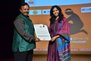 Karmaveera Chakra award