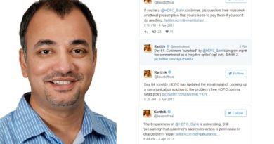 One man's Twitter Satyagraha that's proving to be a case study on crisis management