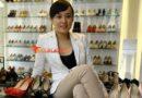 The Footwear Designer on her toes