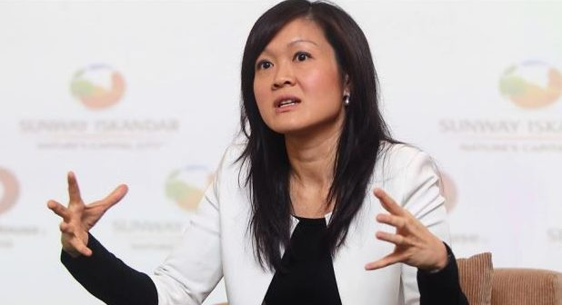 Property market won't collapse this year:  Sarena Cheah