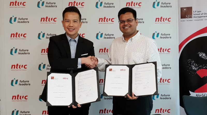 NTUC and SP Jain Join Forces for Members' Benefit
