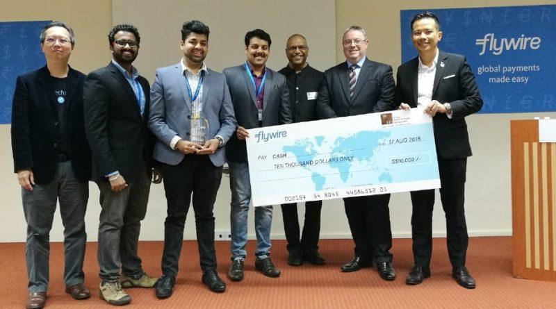 S P Jain School of Global Management clinch Flywire Challenge