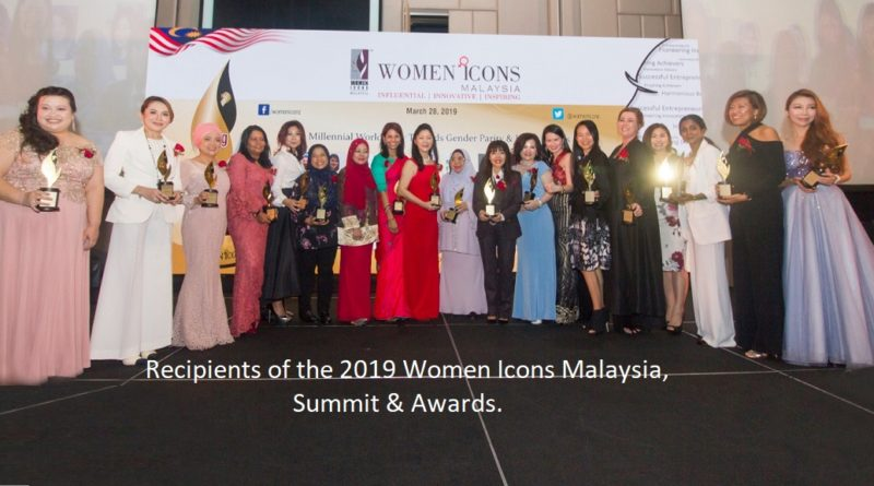 Women Icons Malaysia 2019 awards presented to 18 enterprising achievers