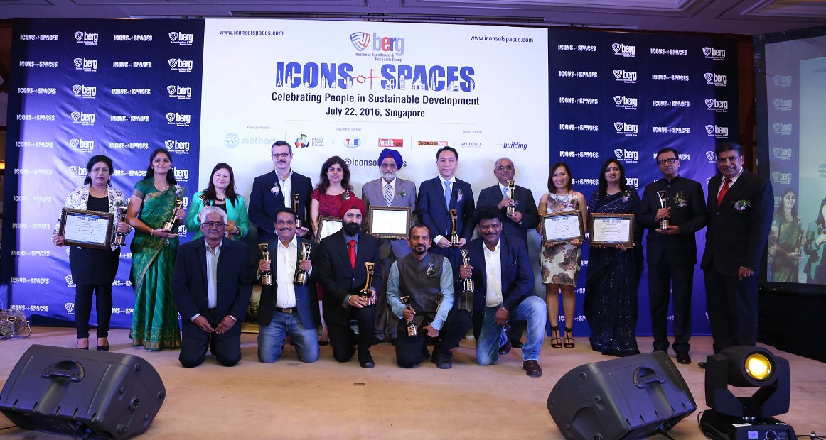BERG' Prestigious 'Icons of Spaces' Awarded to Leading Architects & Developers
