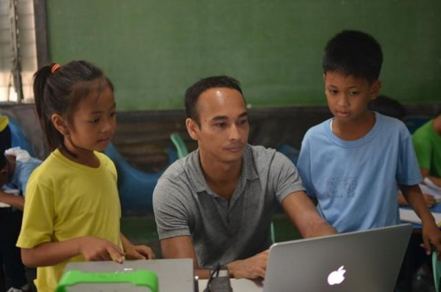Deep in the trenches, building solutions to improve education